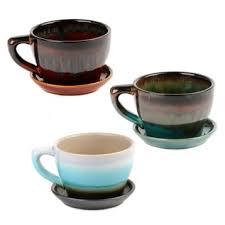 large ceramic teacup planters kirklands