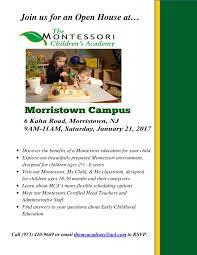 montessori preschool open house morristown nj news tapinto