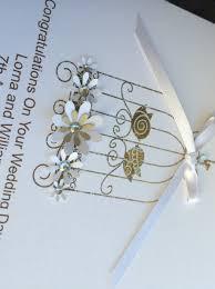 handmade wedding card lace bird cage handmade cards pink u0026 posh