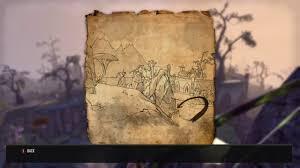 Eastmarch Ce Treasure Map The Elder Scrolls Online New Stonefalls Treasure Map 2 Ii Updated