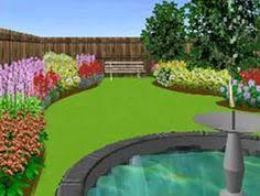 Virtual Backyard Design by Free On Line Garden Planner Garden Planner Planners And Website