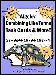 20 best pre algebra chapter 2 images on pinterest combining like