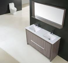 aquamoon granada 60 grey oak double sink modern bathroom vanity