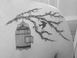 bird cage tattoo by jenny bunny bunns at timeless tattoo in