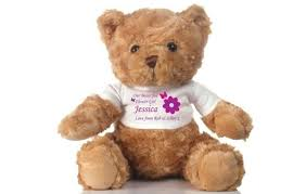 flower girl teddy personalised flower girl teddy i just it