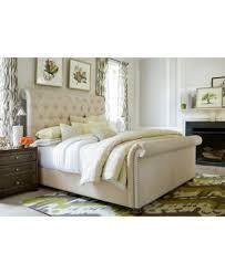 taylor upholstered king bed furniture macy u0027s