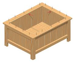 Wood Planter Box Plans Free by Wooden Planter Box Plans Free Friendly Woodworking Projects