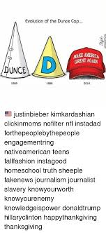 How To Make A Dunce Cap Out Of Paper - evolution of the dunce cap make america great unce 1956 1986 2016