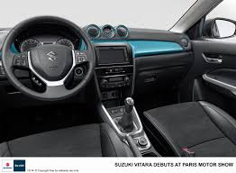suzuki every interior suzuki vitara compact suv pictures u0026 details