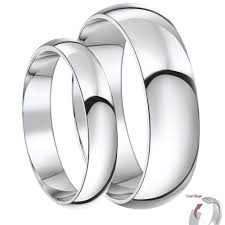 his and wedding rings his hers palladium wedding bands and matching ring sets