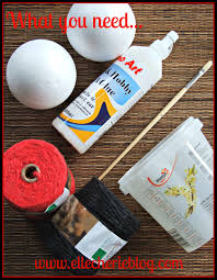 How To Make Decorative Balls How To Make Decorative Balls That U0027s Super Easy Elle Cherie