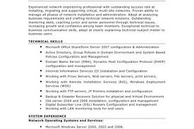 Network Engineer Resume Example by Professional Network Engineer Resume Samples Cv Template For