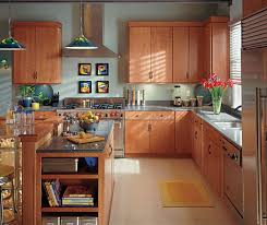 Light Cherry Kitchen Cabinets Schrock - Light cherry kitchen cabinets