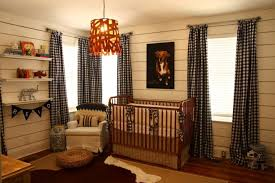 Brown Gingham Curtains Bungalow Blue Interiors Home