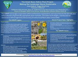 native plant and seed brochure u0026 posters u2014 the great basin native plant project
