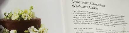 wedding cake ingredients list berry s american chocolate wedding cake lullingstone