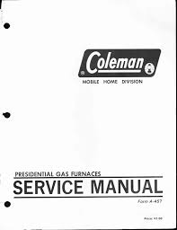 coleman 7700 lp gas series specifications