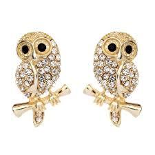 owl earrings baby owl earrings shop amrita singh jewelry