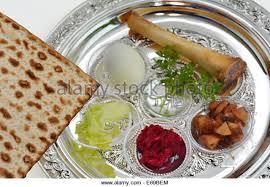 sader plate passover seder plate symbolic food stock photos passover seder