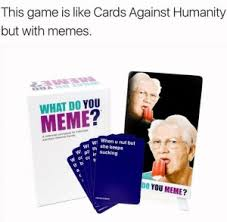 Meme Game - this game is like cards against humanity but with memes meme xyz
