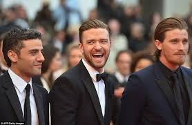 justin timberlake earrings cannes festival 2013 justin timberlake carey mulligan and