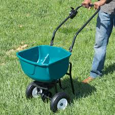 fertilizer spreader lawn u0026 garden home yard grass seed outdoor