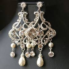 vintage wedding earrings chandeliers vintage bridal jewelry friends planning weddings