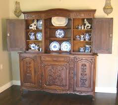 Antique Server Buffet by Antique Country French Buffet Server Hutch Carved Oak For Sale