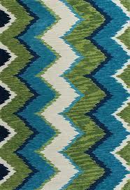 Kas Throw Rug Blue And Green Chevron Rug By Kas Rugs Rosenberryrooms Com