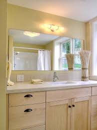Glass Mirrors For Bathrooms Large Bathroom Mirror For Better Vision Designinyou