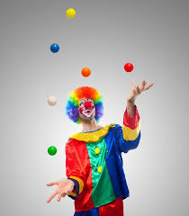 clowns juggling balls clown juggling balls wall mural pixers we live to change