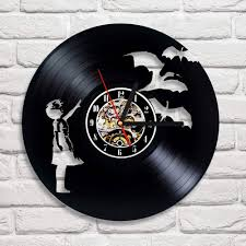 Designs Of Wall Hanging With C D Popular Cd Clock Buy Cheap Cd Clock Lots From China Cd Clock