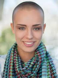 womens buzzed and bold haircuts 173 best scarf images on pinterest buzz cuts short hairstyle