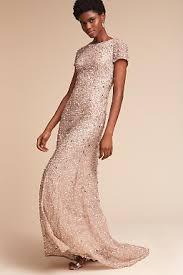 gold bridesmaid dresses metallic silver gold bridesmaid dresses bhldn