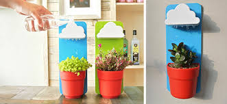 cute pots for plants rainy pot this cute cloud will keep your plants alive