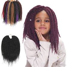 Synthetic Hair Extension by 2017 Synthetic Hair Crochet Braids Pure Ombre Senegalese Twist