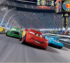 cars race track mini mural blue mountain wallcovering disney disney cars race track wall mural