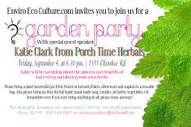 garden party invitations wording home outdoor decoration