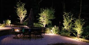 Landscape Lighting Ideas Trees Exterior Outdoor Landscape Lighting Ideas Designs Naperville