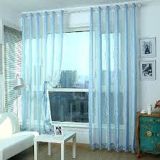 blue sheer curtains u2013 teawing co