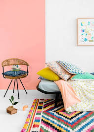 34 ideas to paint a color block wall domino