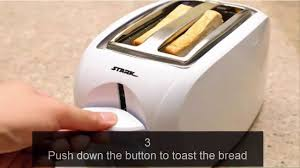 Bread Toaster How To Make Toast In A Toaster Youtube Youtube
