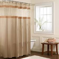 Overstock Shower Curtains Maytex Embroidered Panel Fabric Shower Curtain Free Shipping On