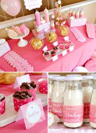 charming sweet u0026 tickled pink baby shower hostess with the