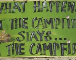 Fire Pit Signs by Funny Camping Sign Etsy