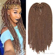 types of braiding hair weave verves hot sale faux locs crochet hair mix color dreadlocks braids