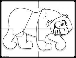 brown bear puzzles prekautism