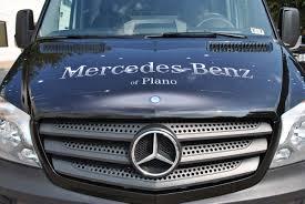 plano mercedes dealership mercedes of plano sprinter wrap car wrap city