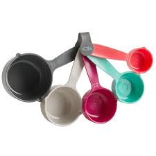 trudeau accessoires cuisine personal edge trudeau 09913081 set of 5 measuring cups the