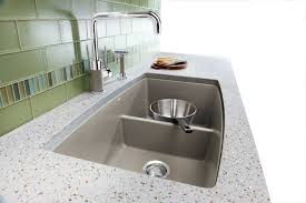 Blanco Faucets Kitchen Decorating Double Bowl Blanco Sinks Plus Matching Kitchen Faucet